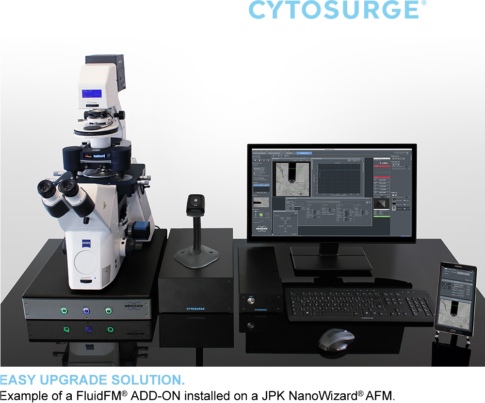 Setup Nanowizard With Cytosurge 1000